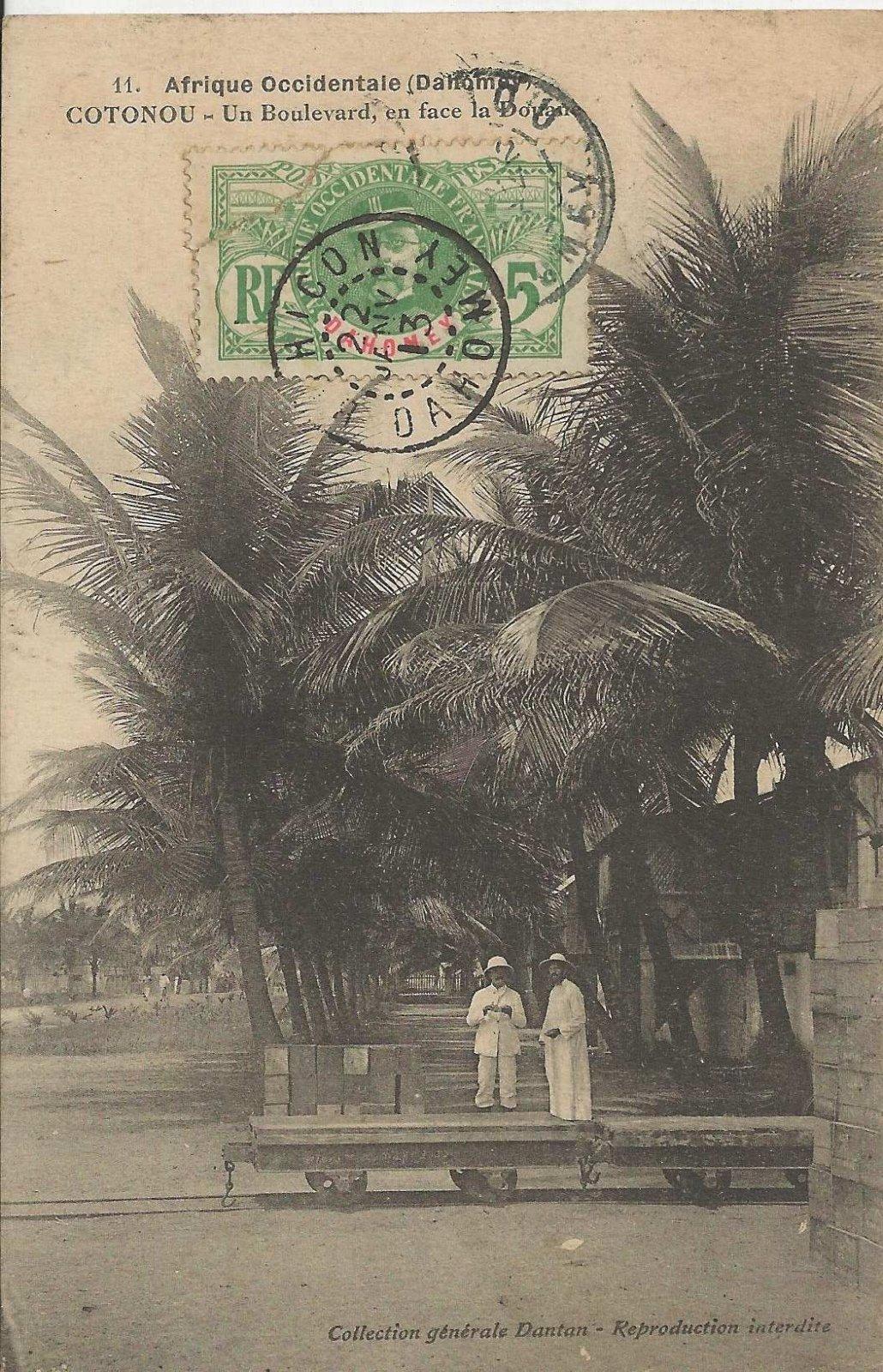 Cotonou boulevard 1913