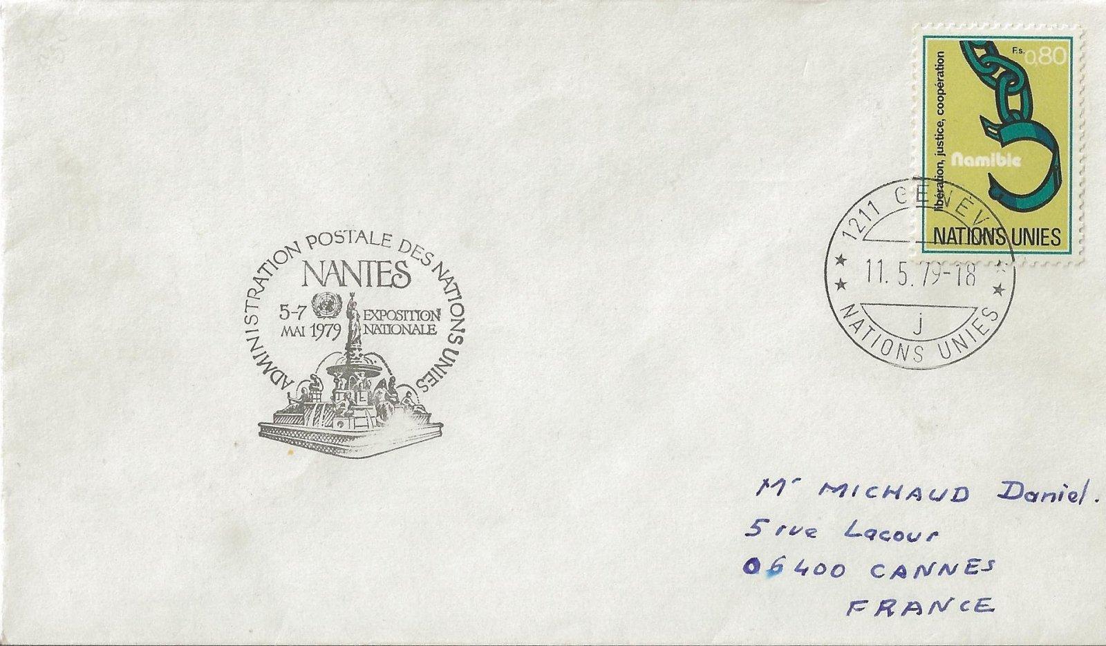1979 adm postale des nations unies
