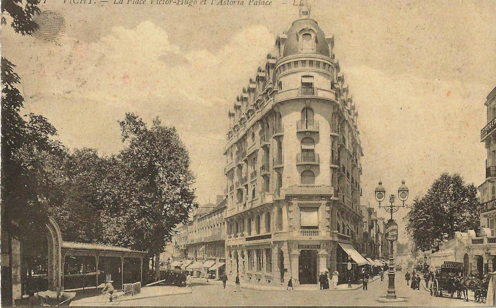 VICHY ASTORIA PALACE 1913