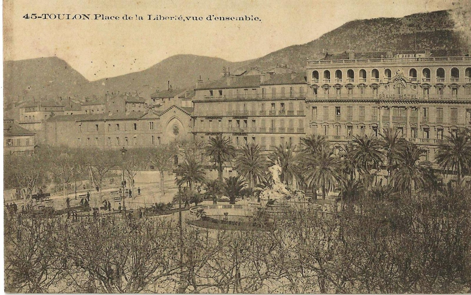 TOULON PLCE DE LIBERTE 1907