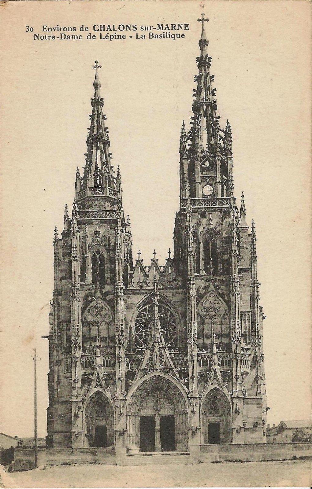 basilique ntre dame epine 1917