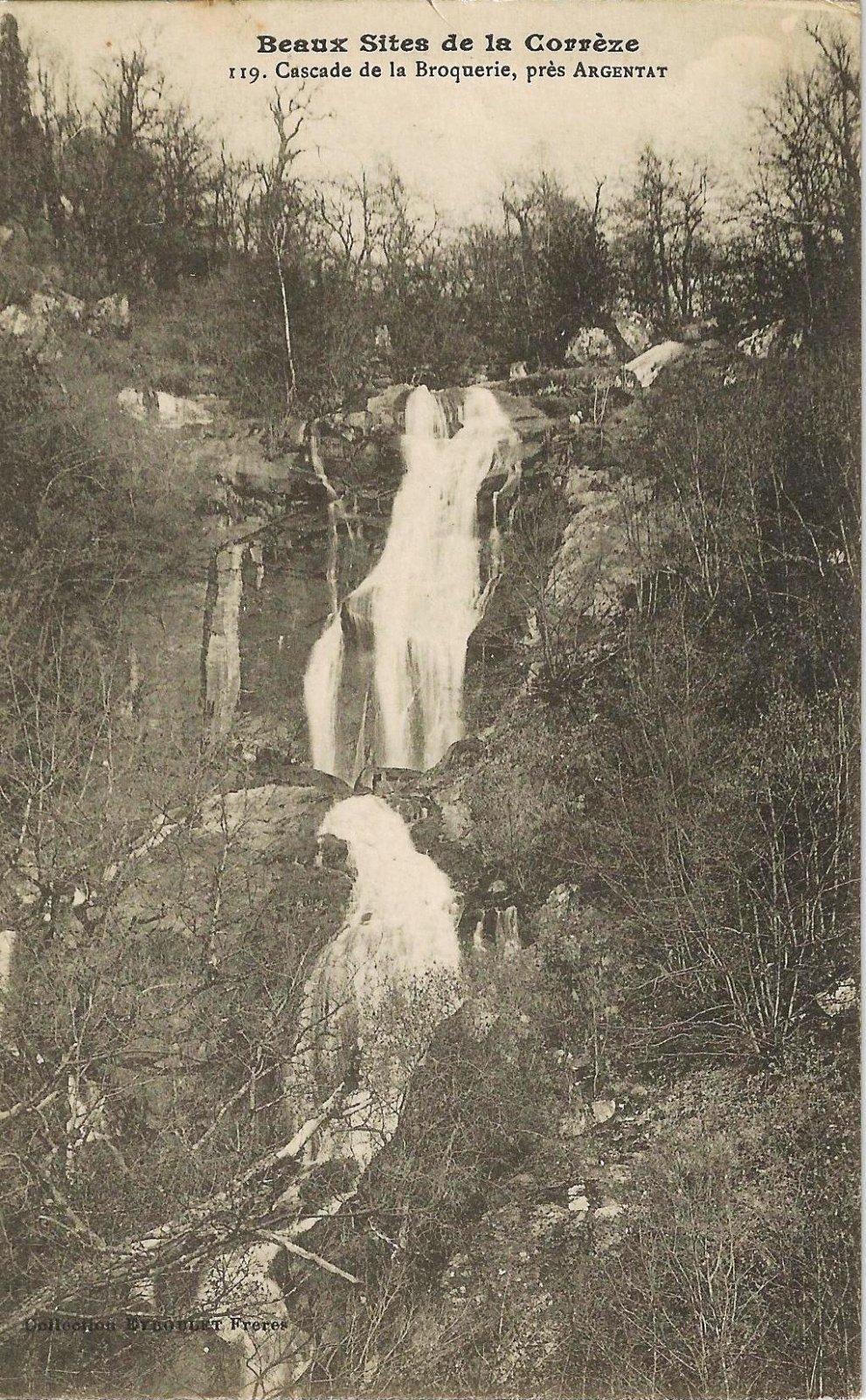 cascade de la broquerie 1916