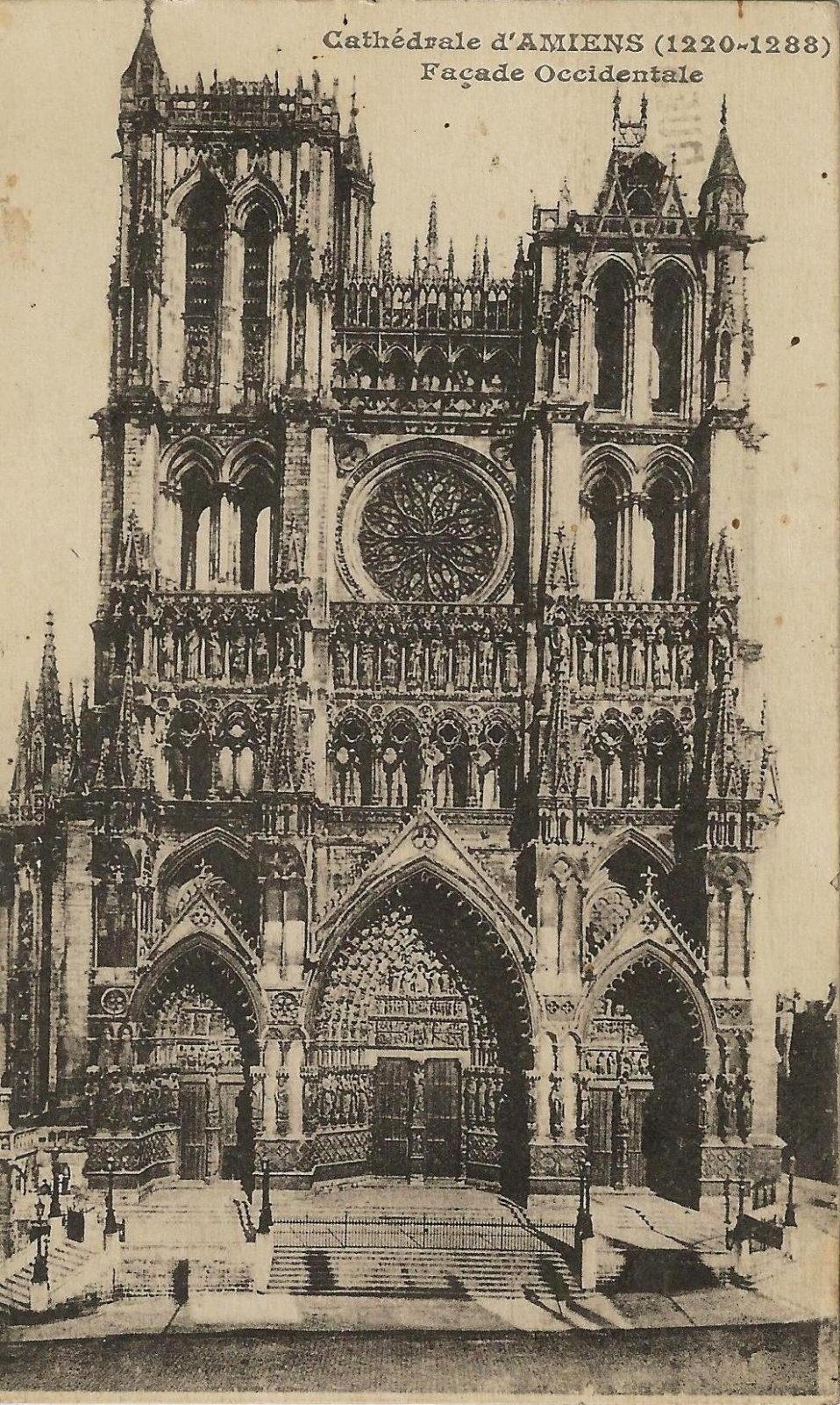 cathedrale amiens 1929
