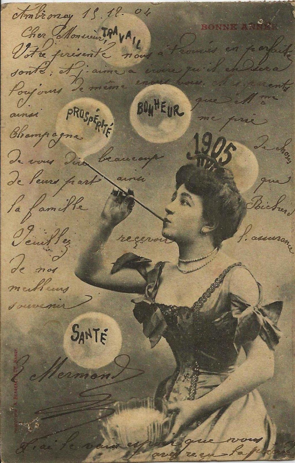 bonne année 1904