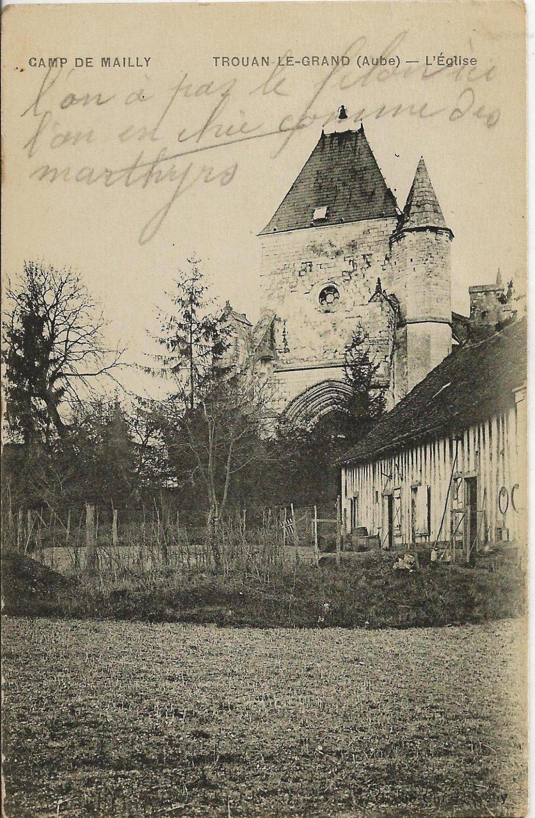 camp de mailly 1917