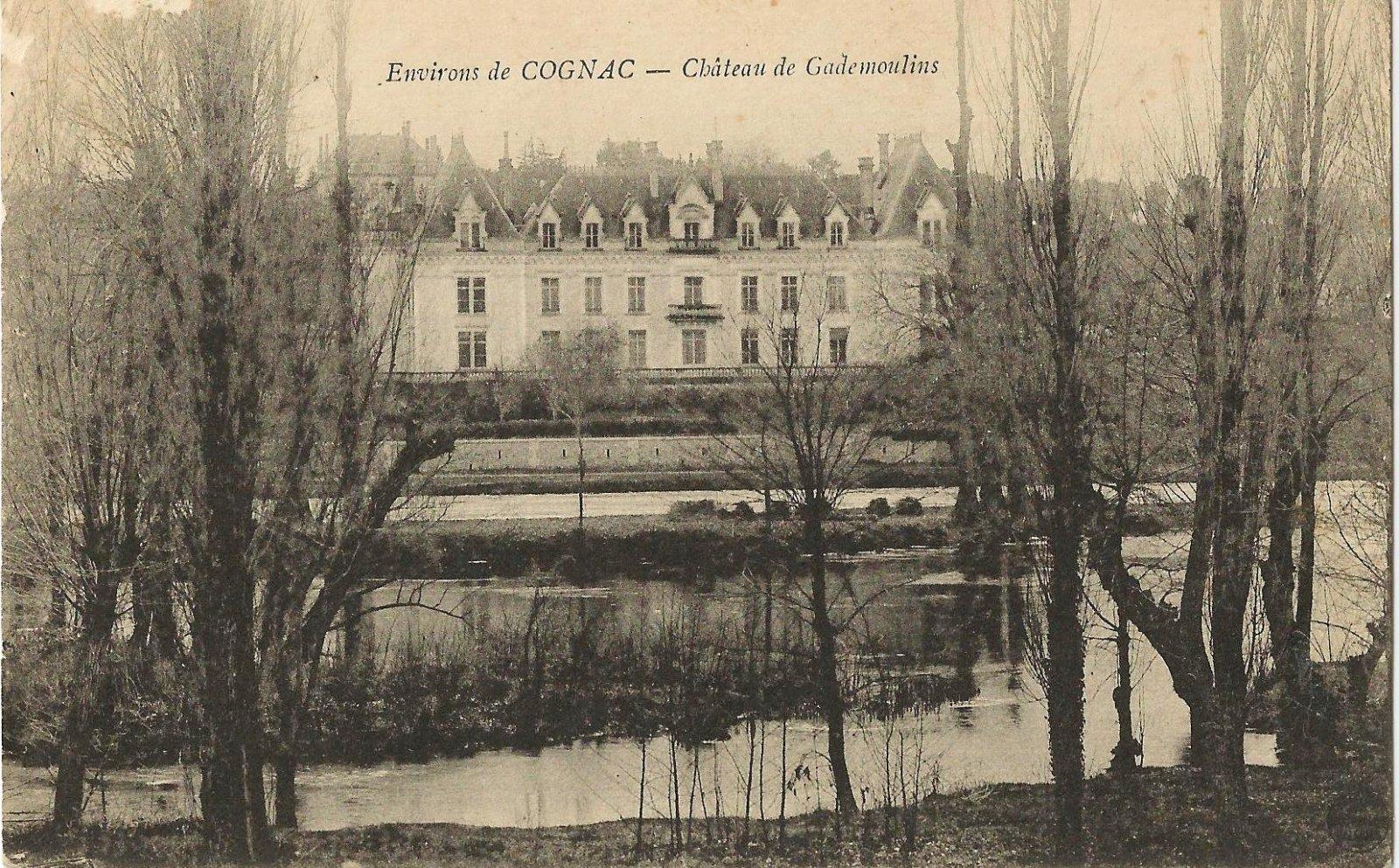 chateau de gademoulins cognac 1915