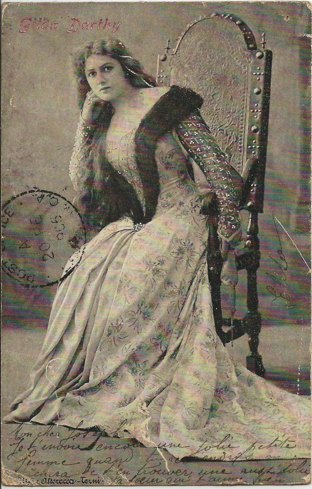 actrice Gildas Darthy 1905