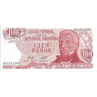 BILLET ARGENTINE 100 PESOS