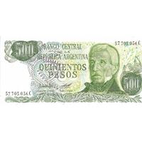 BILLET ARGENTINE 500 PESOS