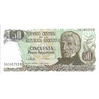 BILLET ARGENTINE 50 PESOS