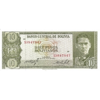 BILLET BOLIVIE 10 PESOS
