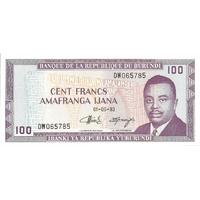 BILLET BURUNDI 100 FRANCS