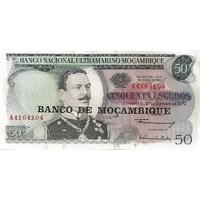 BILLET MOZAMBIQUE 50 ESCUDOS