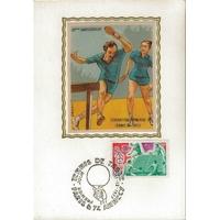 CARTE MAXIMUM 1964 / JEUX OLYMPIQUES DE TOKYO / PARIS