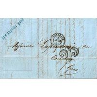 PLI LETTRE 1 AVRIL 1853