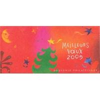 SOUVENIR PHILATÉLIQUE MEILLEURS VOEUX / 2004 / ETOILES