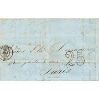 PLI LETTRE 26 MAI 1853