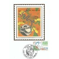 CARTE MAXIMUM 1975 / VILLES NOUVELLES / EVRY CERGY L'ISLE D'ABEAU