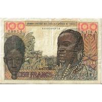 BILLET FRANCE 100 FRANCS ETATS DE L'AFRIQUE DE L'OUEST 1961