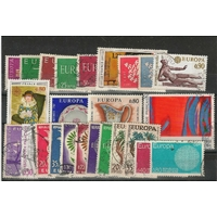 EUROPA 25 TIMBRES FRANCE