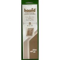 HAWID POCHETTES DE PROTECTION POUR TIMBRES 210X53mm