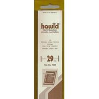 HAWID POCHETTES DE PROTECTION POUR TIMBRES 210X29mm