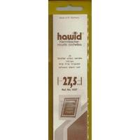 HAWID POCHETTES DE PROTECTION POUR TIMBRES 210X27.5mm