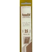 HAWID POCHETTES DE PROTECTION POUR TIMBRES 210X25mm
