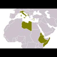 ITALIE Colonies