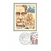 CARTE MAXIMUM 1975 / DOCTEUR A. SCHWEITZER / KAYSERSBERG