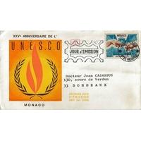 ENVELOPPE 1er JOUR 1971 / MONACO