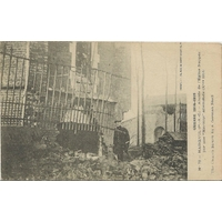 EGLISE DE MAROEUIL APRES BOMBARDEMENT / 1915