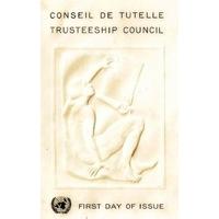 LOT ENVELOPPES 1er JOUR 1959 / CONSEIL DE TUTELLE / NATIONS UNIES NEW YORK