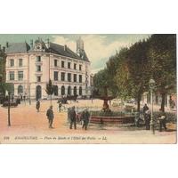 ANGOULÊME PLACE DU MUSÉE CARTE COLORISÉE / PAS D'AFFRANCHISSEMENT