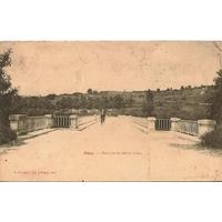 PRIAY / PONT SUR LA RIVIERE AIN / 1903