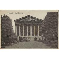 PARIS LA MADELEINE / 1917