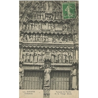 CATHEDRALE D'AMIENS / 1917