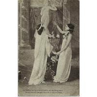 "CARTE ""CHANTE UN HYMNE"" / 1908"