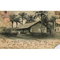 GARE DE LAGOS / LAGOS VERS Vonnas (AIN)/ 1905