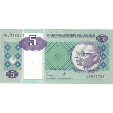 angola 5 kwansas