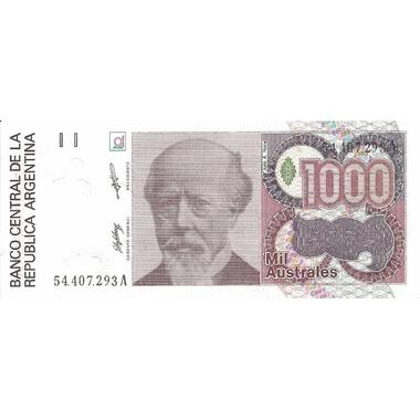 argentine 1000 australes