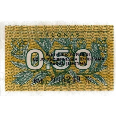 lituanie0.5talona