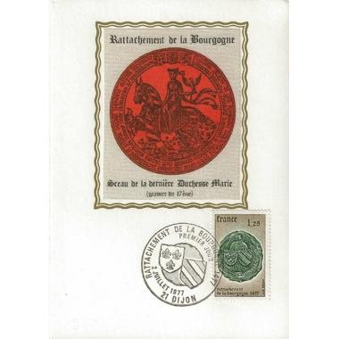 1977rattachementBourgogne