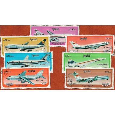 Kampuchea avions modernes