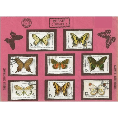 papillons russie