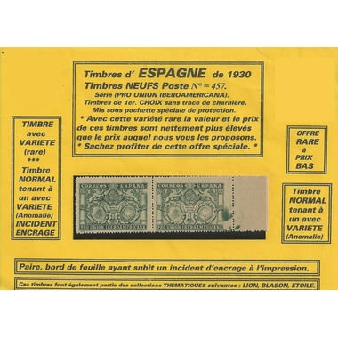 2 timbres espagne serie2