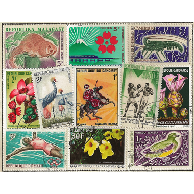 50 timbres ex-colonies2