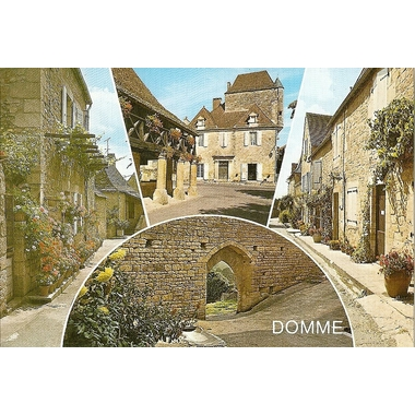 carte postale domme