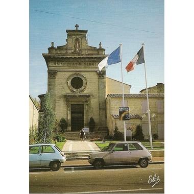carte postale eglise du carmel libourne