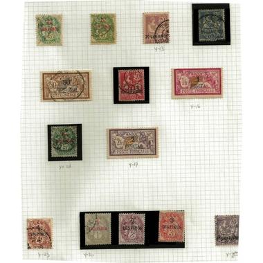 timbre maroc 1902-1910